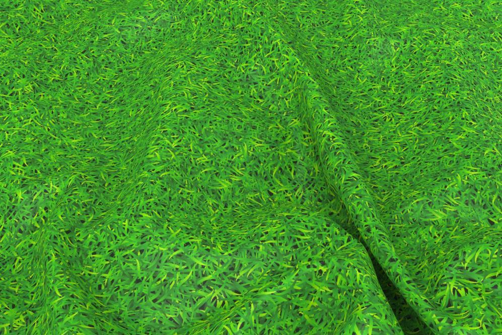 Wärmevorhang-Stoff - Gras