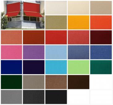 Toller Markisenstoff in angesagten Farben