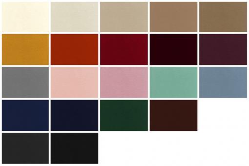 Edler, weicher Wärme-Vorhangstoff in verschiedenen Farben