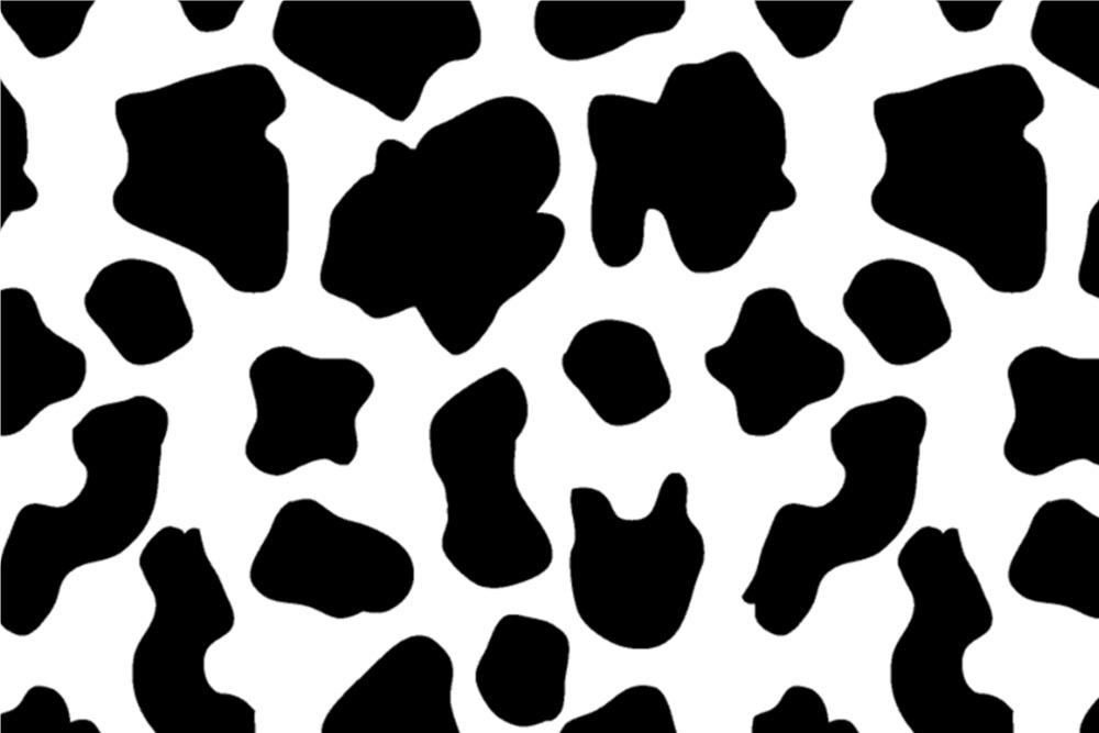 Vektorgrafiken Nahtlose Kuh Muster Vektorbilder 13