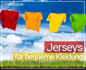 Jersey-Stoffe klein