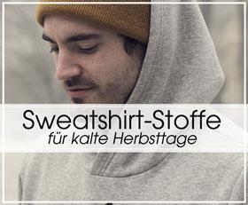 Sweatshirt-Stoffe