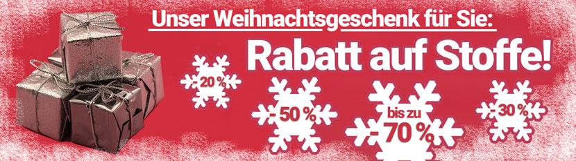 Weihnachts-Rabattaktion