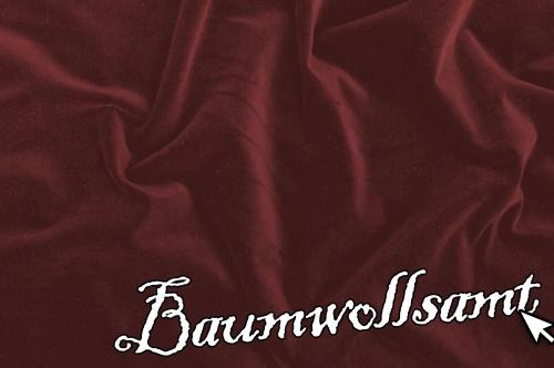 Baumwollsamt