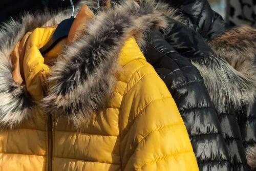 Jacken warm gefüttert mit Volumenvlies